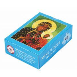 Puzzle religijne dla dzieci 40 elementów MB Częstochowska Wędrująca (11)