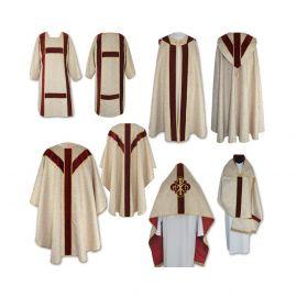 Komplet szat liturgicznych (3)
