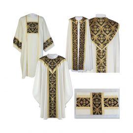 Komplet szat liturgicznych pogrzebowe