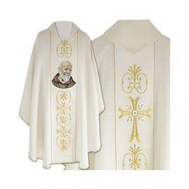 Ornat haftowany św. Ojciec Pio