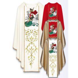 Ornat z wizerunkiem św. Jerzego