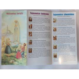 Folder składany Różaniec Święty