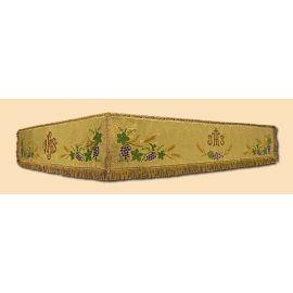 Baldachim złoty 110x140 cm składany (bez ramy)