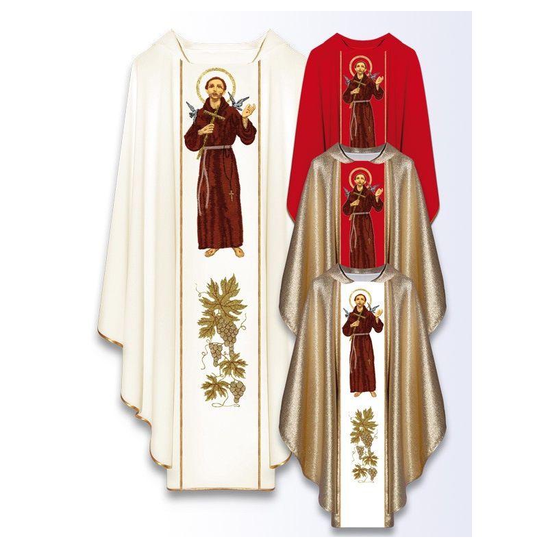 845a3c349e Ornat z wizerunkiem św. Franciszka - Sklep U Archanioła
