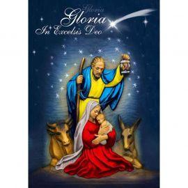 Plakat Bożonarodzeniowy – Gloria In Excelsis Deo (2)