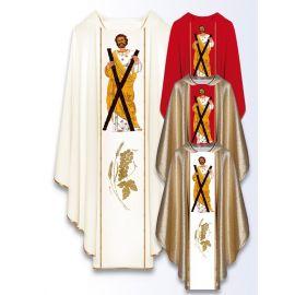 Ornat z wizerunkiem św. Andrzeja Apostoła