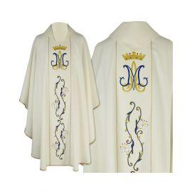 Ornat gotycki haftowany maryjny (36)