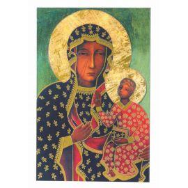 Obrazek Matka Boska Częstochowska 8x5,2 cm