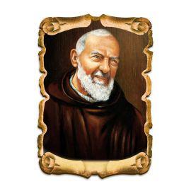 Obraz na HDF format A5 - Święty Ojciec Pio