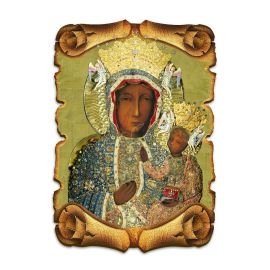Obraz na HDF format A5 - Matka Boża Częstochowska (3)