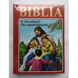 Biblia w obrazkach dla najmłodszych - czerwona