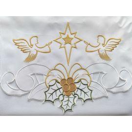 Obrus na Boże Narodzenie Anioły (5)