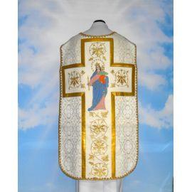 Ornat rzymski haftowany matka Boża Wspomożycielka Wiernych