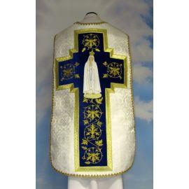 Ornat rzymski haftowany Matka Boża Fatimska