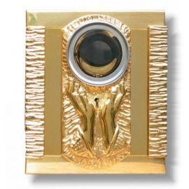 Tabernakulum mosiężne IHS + Dłonie z wystawieniem Najświętszego Sakramentu (46)
