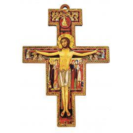 Krzyż św. Franciszka 8x6 cm