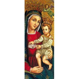 Baner Matka Boża z Dzieciątkiem Jezus