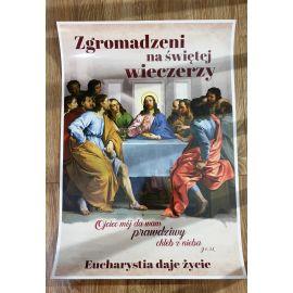 Plakat Zgromadzeni na świętej wieczerzy