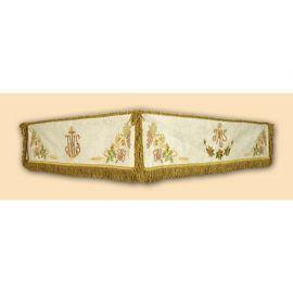 Baldachim 110x140 z drewnianą ramą (243)