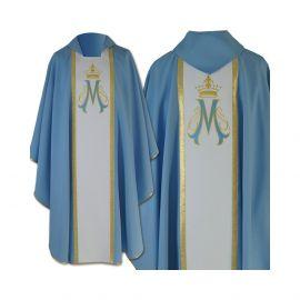 Ornat gotycki Maryjny haftowany (22)