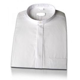 Koszula wzór amerykański - na spinki podwójne