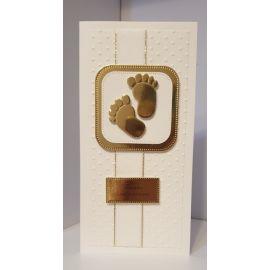 Kartka ręcznie wykonana - Chrzest Święty (6)