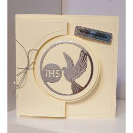 Kartka ręcznie wykonana - Pamiątka Bierzmowania (2)