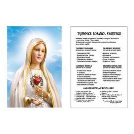 Obrazek Dwustronny - Tajemnice Różańca Świętego (1)