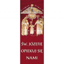 Baner - Św. Józefie opiekuj się nami