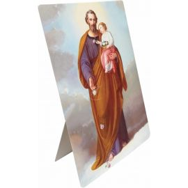 Święty Józef - Stojaczek papierowy