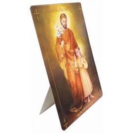 Święty Józef - Stojaczek papierowy (2)