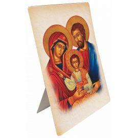 Święta Rodzina - Ikona - Stojaczek papierowy