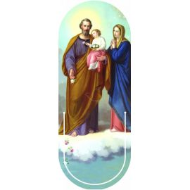 Święta Rodzina - Zakładka półokrągła syntetyczna