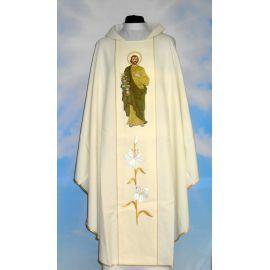 Ornat haftowany z wizerunkiem Świętego Józefa (5)