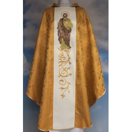 Ornat haftowany z wizerunkiem Świętego Józefa - rozeta  (9)