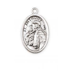 Medalik metalowy Święty Antoni