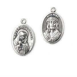 Medalik metalowy Ecce Homo