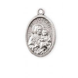 Medalik metalowy Święty Józef