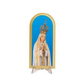 Matka Boża Fatimska - Obraz półokrągły