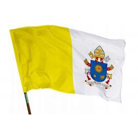 Flaga religijna PAPIESKA (Franciszek) 112x70cm