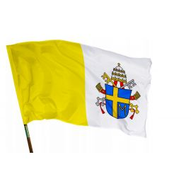 Flaga religijna PAPIESKA (Jan Paweł II) 112x70cm