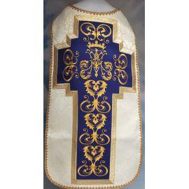 Ornat rzymski haftowany motyw Maryjny