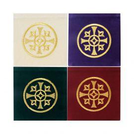 Palki haftowane zestaw 4 sztuk - materiał aksamit
