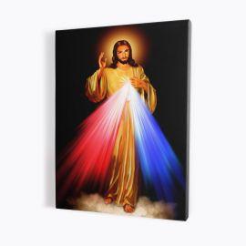 Obraz Jezus Miłosierny - płótno canvas (7)