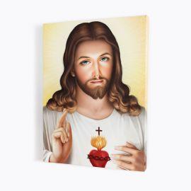 Obraz Serce Jezusa - płótno canvas (37)