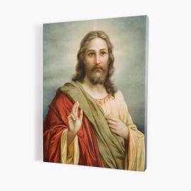 Obraz Serce Jezusa - płótno canvas (38)