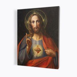 Obraz Serce Jezusa - płótno canvas (39)