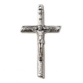 Krzyżyk metalowy - Pan Jezus na krzyżu (2)
