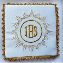 Palka haftowana ecru IHS (4)