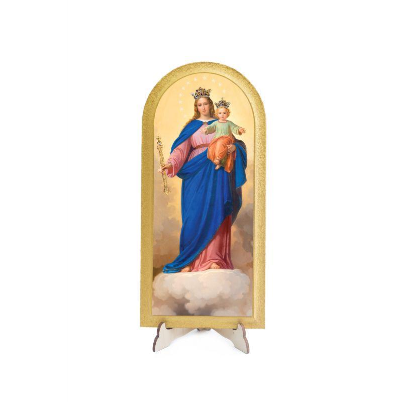 Obraz półokrągły Matka Boża Wspomożycielka